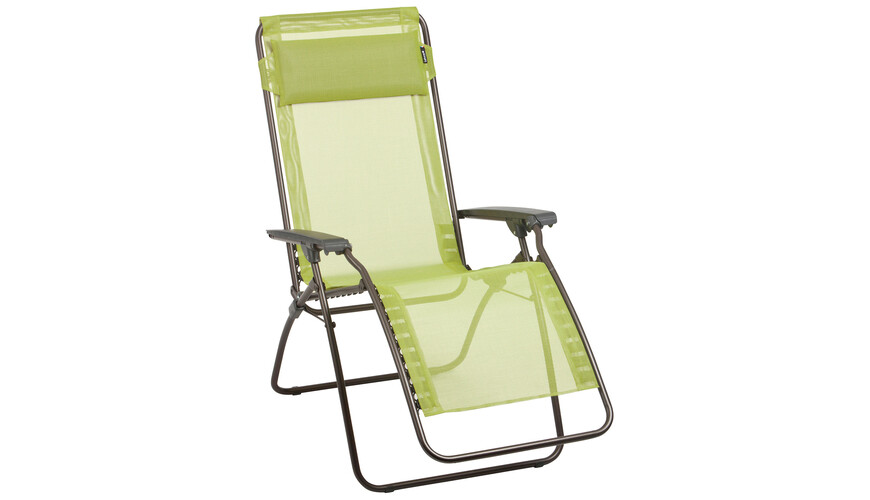 Lafuma Mobilier R CLIP - Taburetes plegables - Trendy Batyline verde/marrón